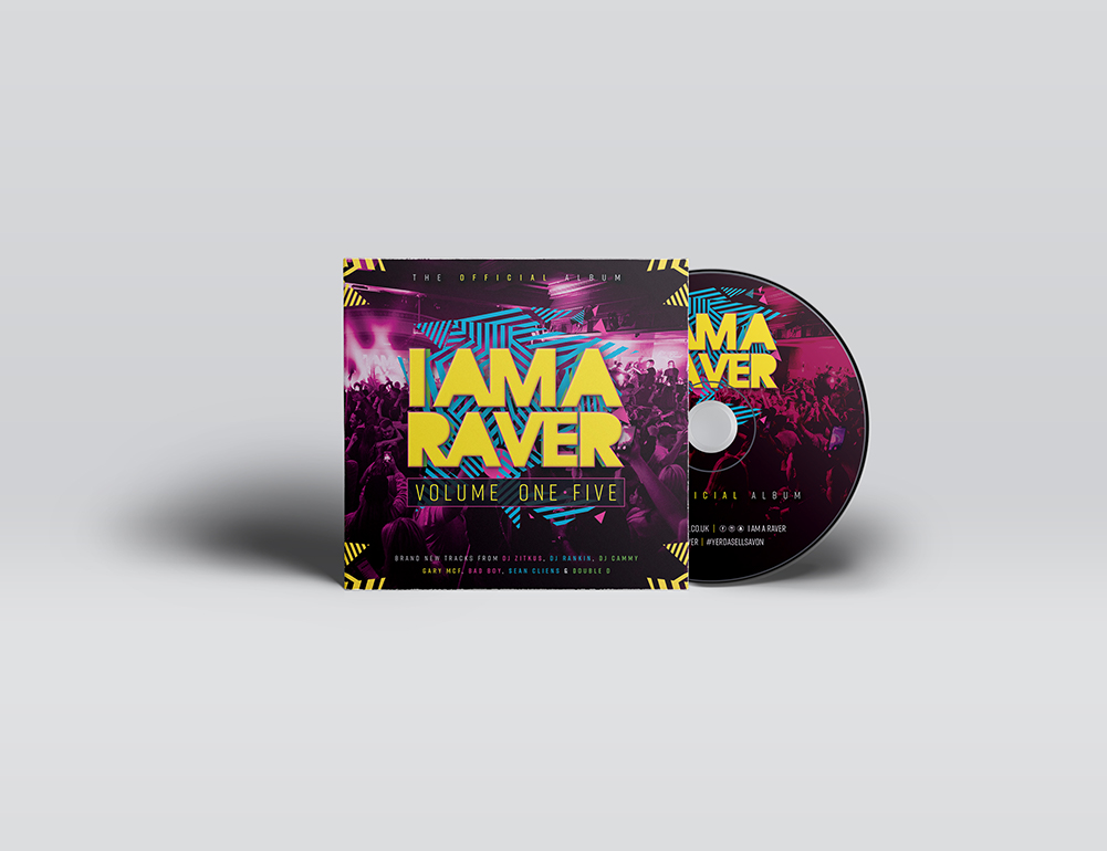 I Am A Raver CD Volume 1.5