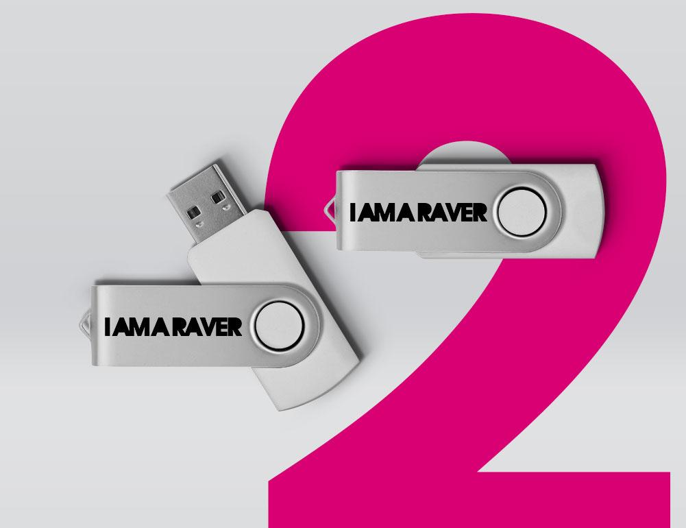 I Am A Raver USB